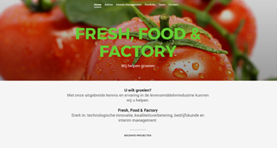 Fresh Food Factory, advies in agrifood